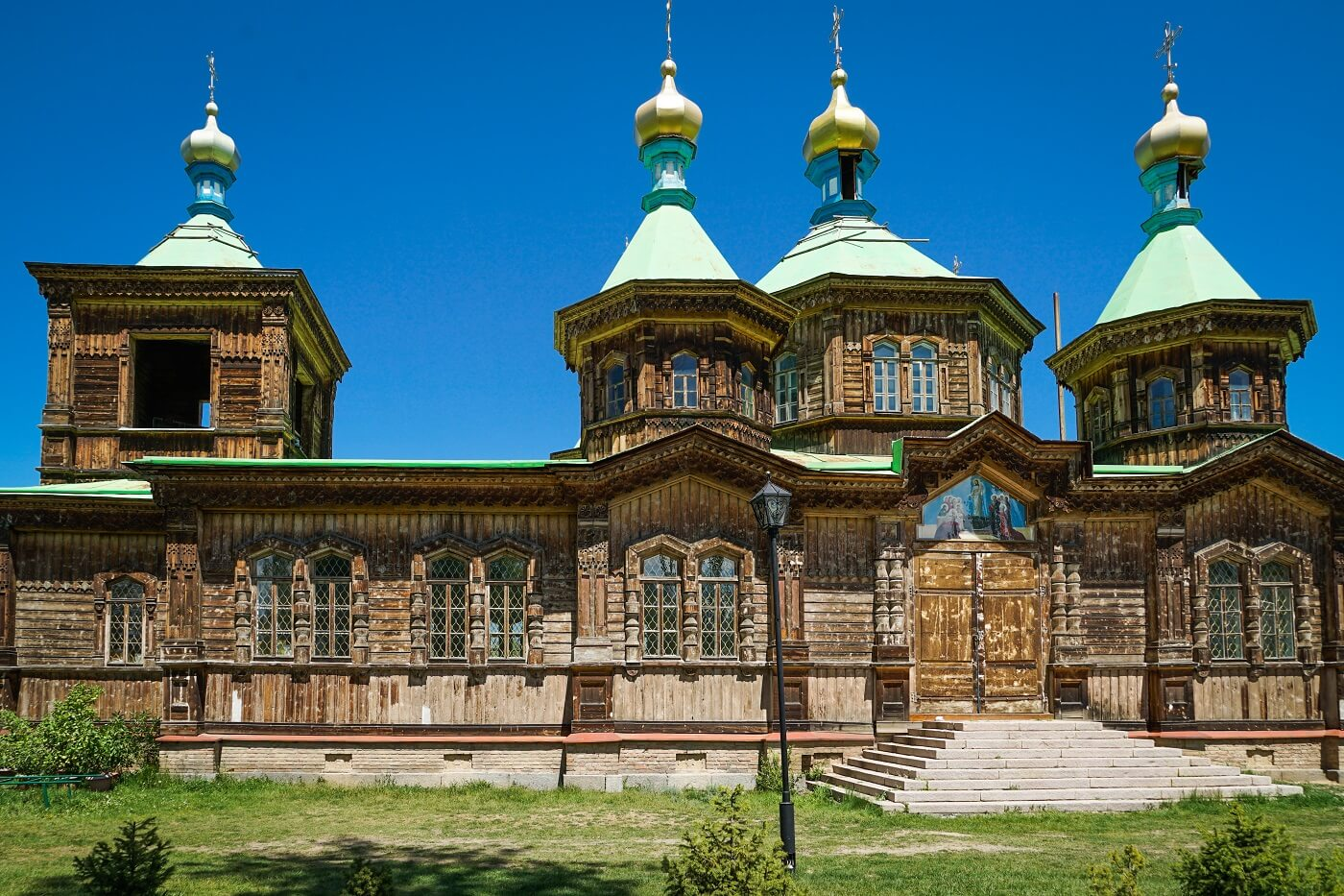 Wooden Church in Karakol